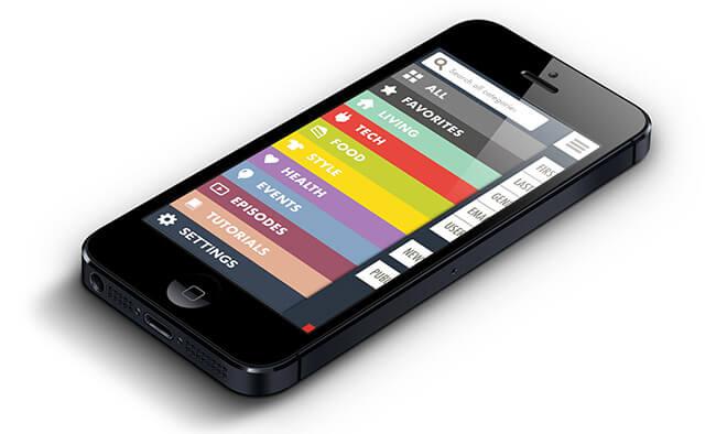 ビビッドな色使いが目を引く、フラットなUIデザインのアプリまとめ